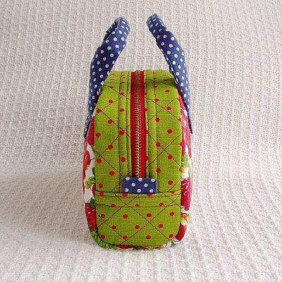miniボストンバッグを作ろう!:てづくり日和