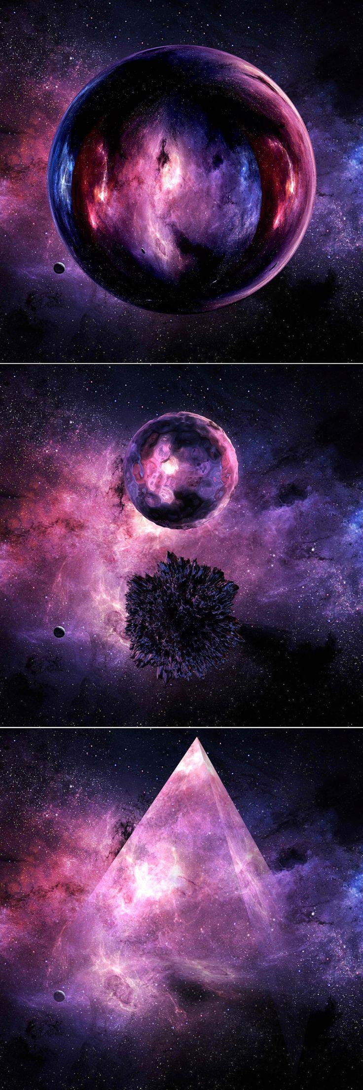 "Day 9: ""Inner Life"" by Drasko V #create #daily #art #universe #design #scifi #alien #space #experimental"