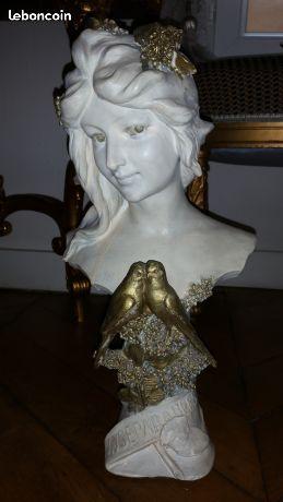 Buste en terre cuite de Aristide de Ranieri