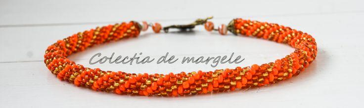 Orange swirl Please visit http://colectiademargele.ro/