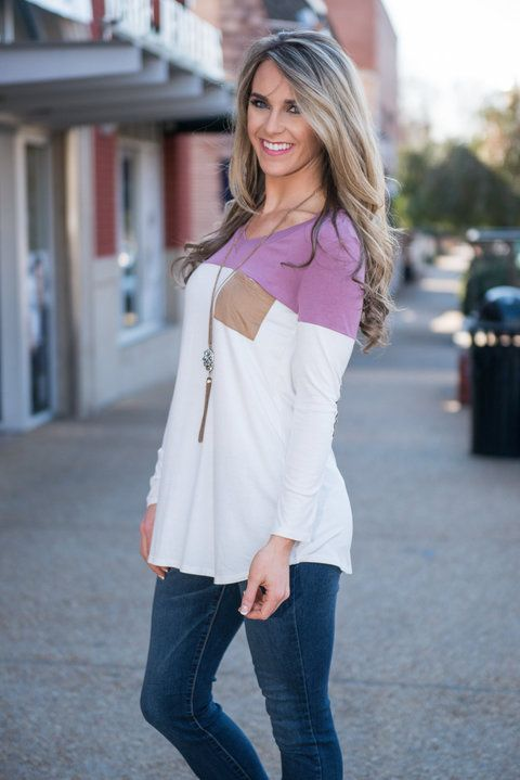 """""""Top Of The Morning Top, Lilac"""" 