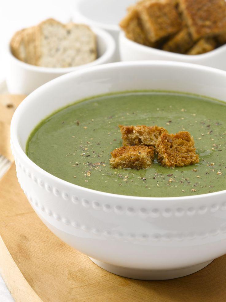 ¡Las verduras se pueden disfrutar en muchos formatos! Disfruta de un Potage de Verduras cremoso libre de lactosa, una receta rápida y deliciosa.