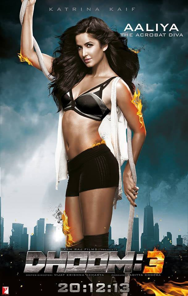 Katrina's SEXY avatar in new Dhoom 3 song? Upcoming Movies,latest bollywood movie,Bollywood Movie reviews,