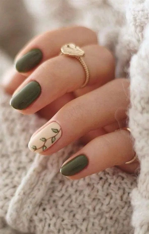 42+ outstanding fall nails designs ideas that make you want to copy 99