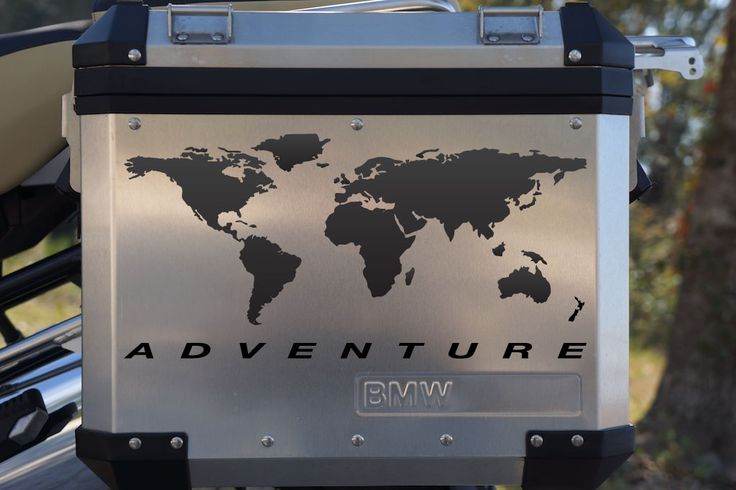 World adventure map decals for touratech panniers bmw motorcycle world adventure map decals for touratech panniers bmw motorcycle pannier decals pinterest bmw motorcycles bmw and dream cars gumiabroncs Images