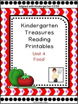 Here are 116 pages of printables, activities, games, etc to supplement your Kindergarten Unit 4 Treasures Reading Program.  This package was designed for the 2011 Treasures Edition.  If you teach another edition, please be aware that some of the stories o