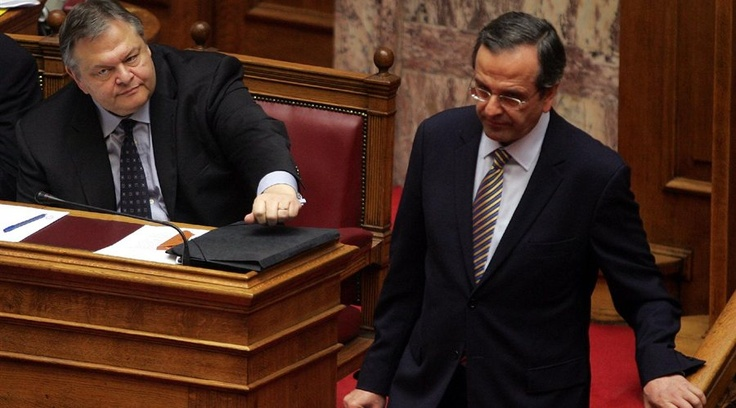 Samaras- Venizelos: the two leaders of a lucky nation #not