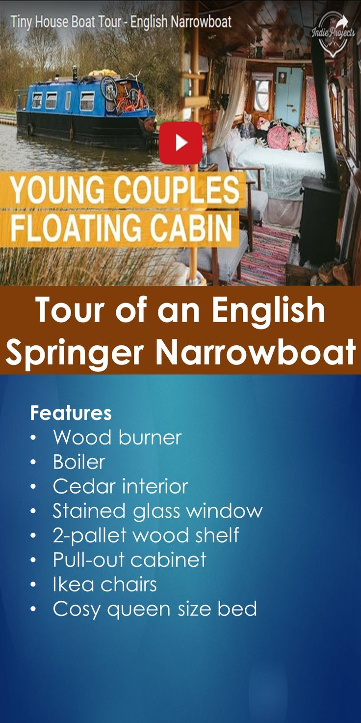 Tiny House Boat Tour: Tour of an English Springer Narrowboat   In This Guide, You Will Learn The Following; Springer Narrowboat For Sale, Springer Waterbug For Sale, Narrowboat Project For Sale, Small Narrowboat For Sale, 30 Ft Narrowboat Layout, Waterbug Boat For Sale, Little Narrowboats, Small Narrow Boats, Etc.