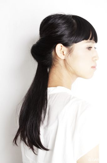 黒髪さんのアレンジ♡ヘアスタイルの参考に。中学生の髪型のカットやアレンジのアイデア!