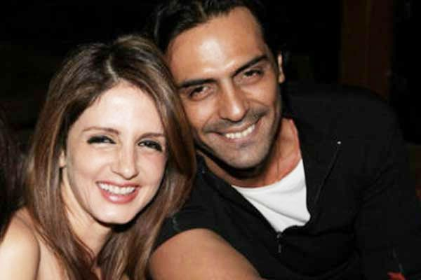 Sussanne Khan likes Arjun Rampal's Daddy poster. Friends again? Read Full Article..