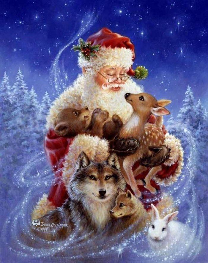 dona gelsinger   das Artes: Os encantos do Natal de Dona Gelsinger.
