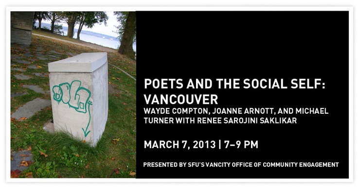 Poets and The Social Self: Vancouver