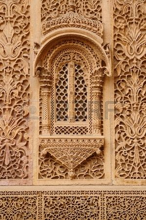 ♡ A Beautiful Haveli in Jaisalmer city, Rajasthan, India. It's just as stunning in real life ♡