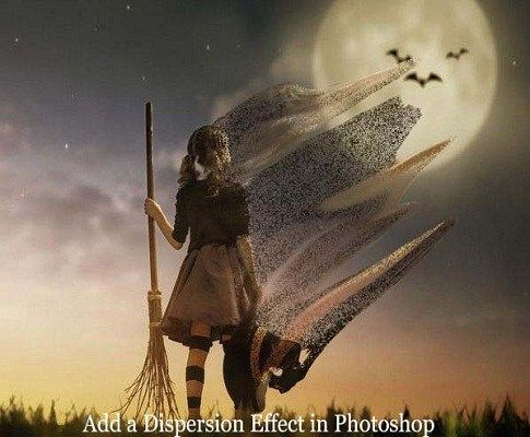Photoshop Tutorial – How to Make a Dispersion Effect in Photoshop