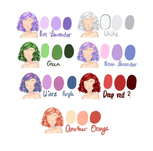 """ehuante: """" mcl-ocestuff: """" I hope this is usefull! By the way, this is for artists who want to make different colors for haircurts. Only one contradiction: You need to keep your layers. All..."""