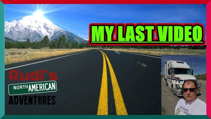 I'm Done this is my Last Video Rudi's NORTH AMERICAN ADVENTURES 12/31/17 Vlog#1299 - YouTube
