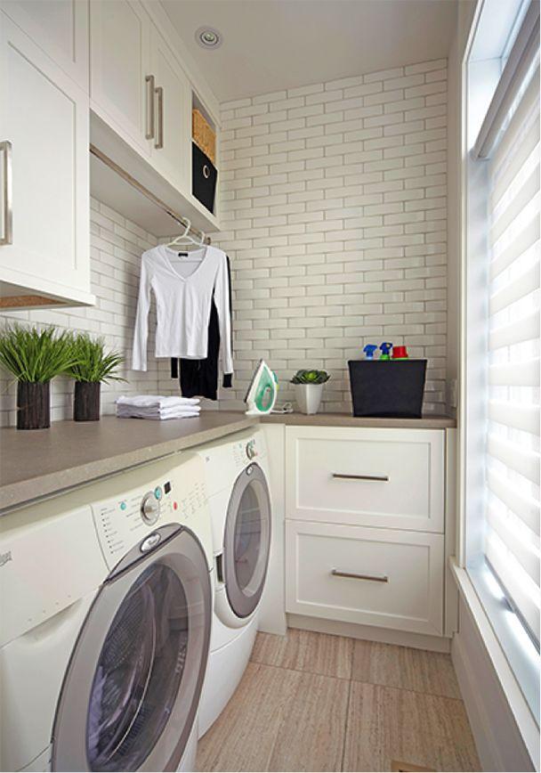 Qu'elle prolonge votre cuisine ou soit conçue comme une pièce en soi, votre buanderie mérite autant d'intérêt que votre cuisine.