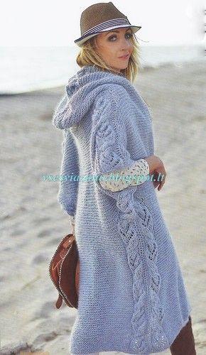 Жакет-пальто с капюшоном для первой осенней прохлады.. Обсуждение на…
