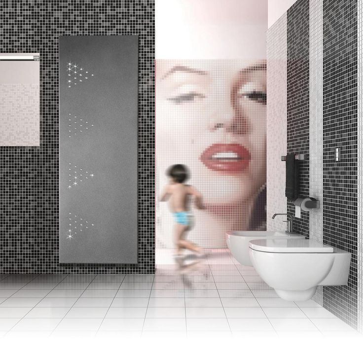 Grzejnik łazienkowy Design - Radeco - Merlin