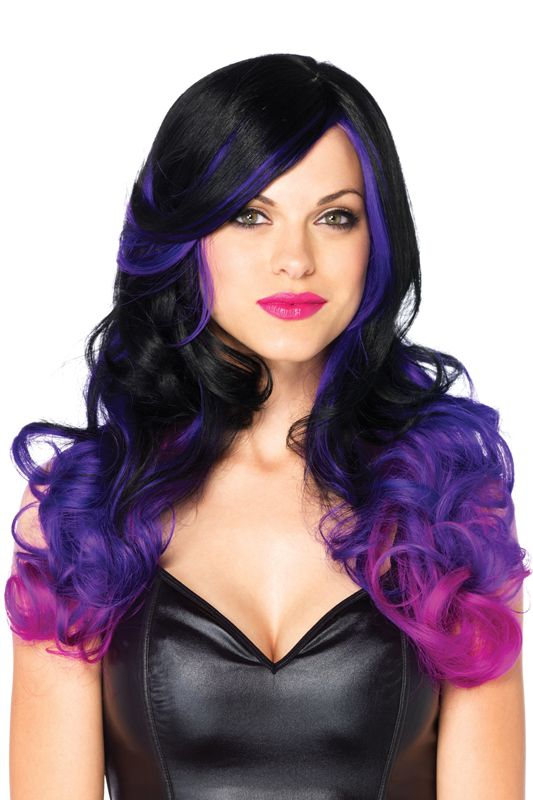 Check out the deal on Allure Multi-Color Wig - FREE SHIPPING at PureCostumes.com