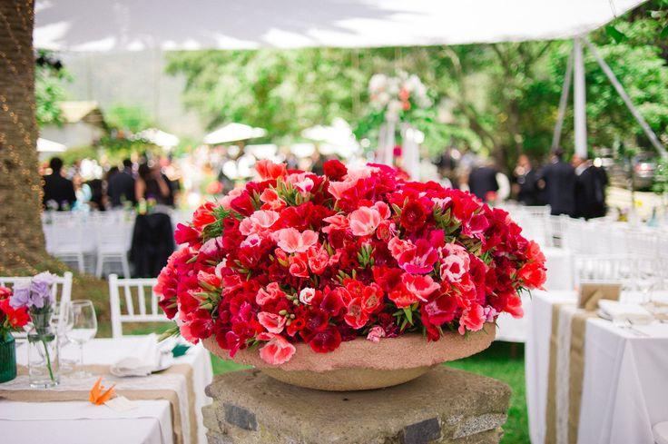 Floras Rojas para matrimonio en Quillota.