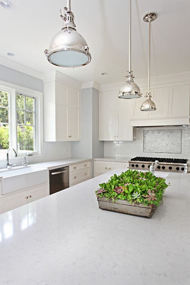 Silestone Lagoon is from the Nebula Series. It has a unique aesthetic that creates movement through veining adding depth to any kitchen or bathroom.