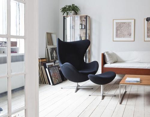 Egg Chair U0026 Ottoman