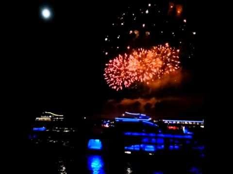 Rhein in Flammen Bonn - Ein Feuerwerk für die Sinne - Reise Blögle