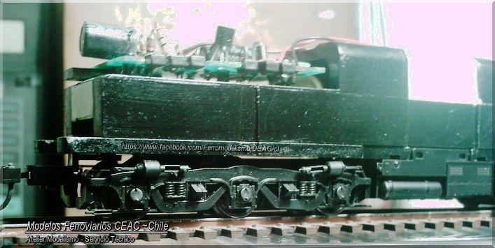https://flic.kr/p/HUfKFL | PA truck | -- Ficha Técnica Modelismo #13385-4021 Modelos Ferroviarios CEAC - Chile