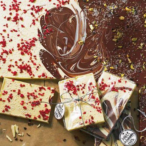 Bunte Schokoladentafeln Mehr