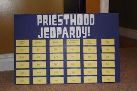Priesthood Jeopardy