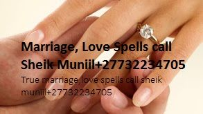 If you have found love, then you are blessed, but the next challenge is to move to the next level of commitment, marriage. Marriage spells will help you get married by the person you are in a relationship with, I have marriage spells for men and marriage spells for women to help you have a happy and long lasting marriage I also have marriage spells to help solve marriage problems, if you are having  from cheating, fighting, lack of love and sex problems I have marriage love spells