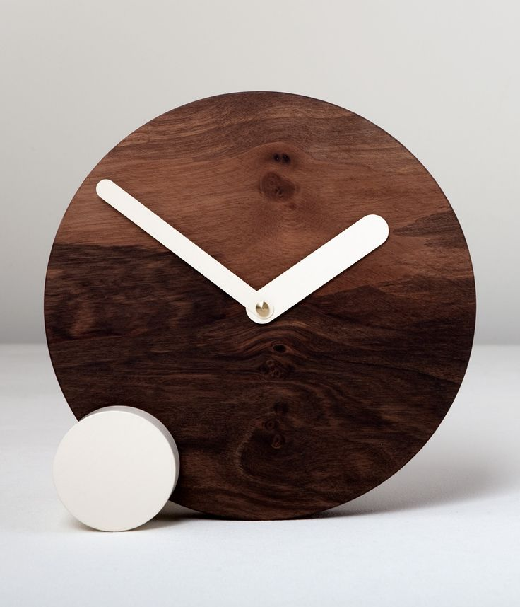 CIRCLOCK WALNUT_wooden clock_Daniele Bortotto_Just99