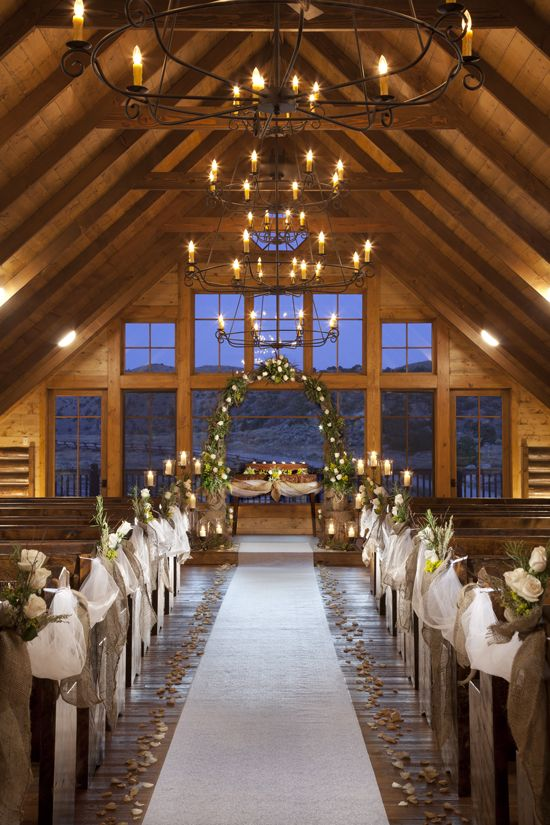 Pretty Rustic Wedding Chapel