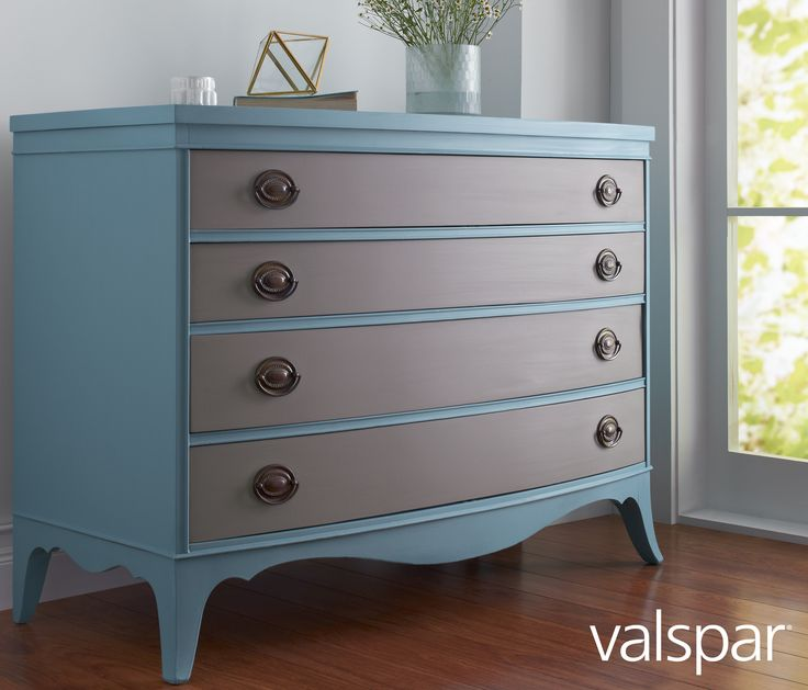 Incorporate A Timeless Vintage Piece Into Your Home Decor Valspar Chalky Paint Can Transform