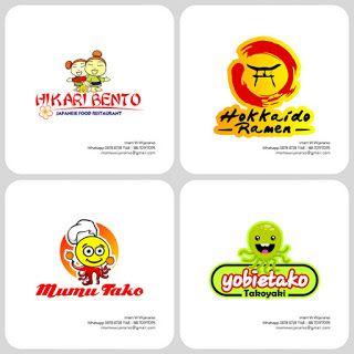 Jasa Desain Logo Kuliner |  Desain Gerobak | Jasa Desain Gerobak Waralaba: Desain Logo Kuliner