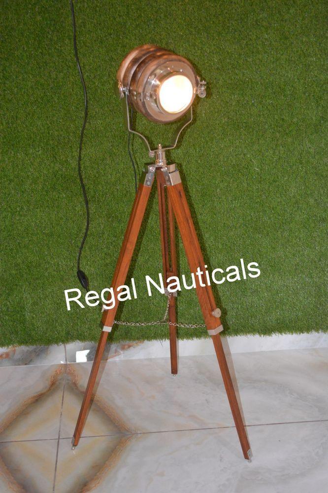 Marine Search light Floor Light Floor Lamp Designer Nautical