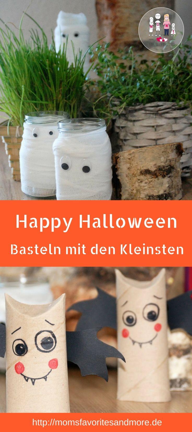 Bald ist wieder Halloween. Sucht ihr einfache und schöne Ideen für eure Kinderparty zu Halloween? Hier habe ich ein paar Ideen für euch bei denen kleine Kinder bereits mitmachen können. Bastelt mit den Kleinsten zu Halloween süße Geister, Fledermäuse, Mumien oder macht tolle Deko aus Papptellern. Basteln mit Papptellern zu Halloween. Ich zeig euch, wie es geht. #halloween #diy