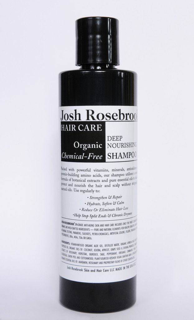 Deep Nourishing Shampoo- By Josh Rosebrook - this and the Balancing Shampoo/conditioner line are the purest, most effective, best selling hair products I've ever used. Tons of integrity.