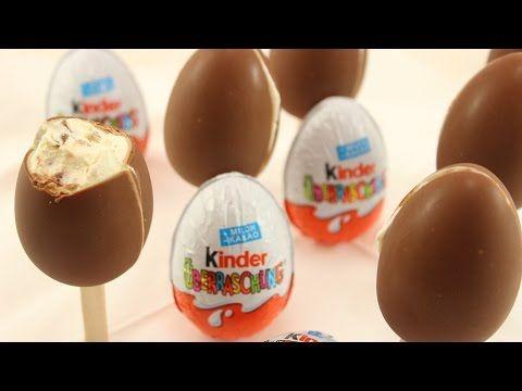 Kinder Überraschung Eis selber machen | Ü-Ei Eis :) - YouTube