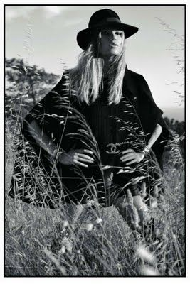 Chanel + Bohemian style= my sweetest dream Paris Vouge 2009: Natasha Poly, Vogue Paris, Fashion Forward, 2014 Style, Fashion Photography, Mario Sorrenti, Bohemian Style, Fashion Women, Has