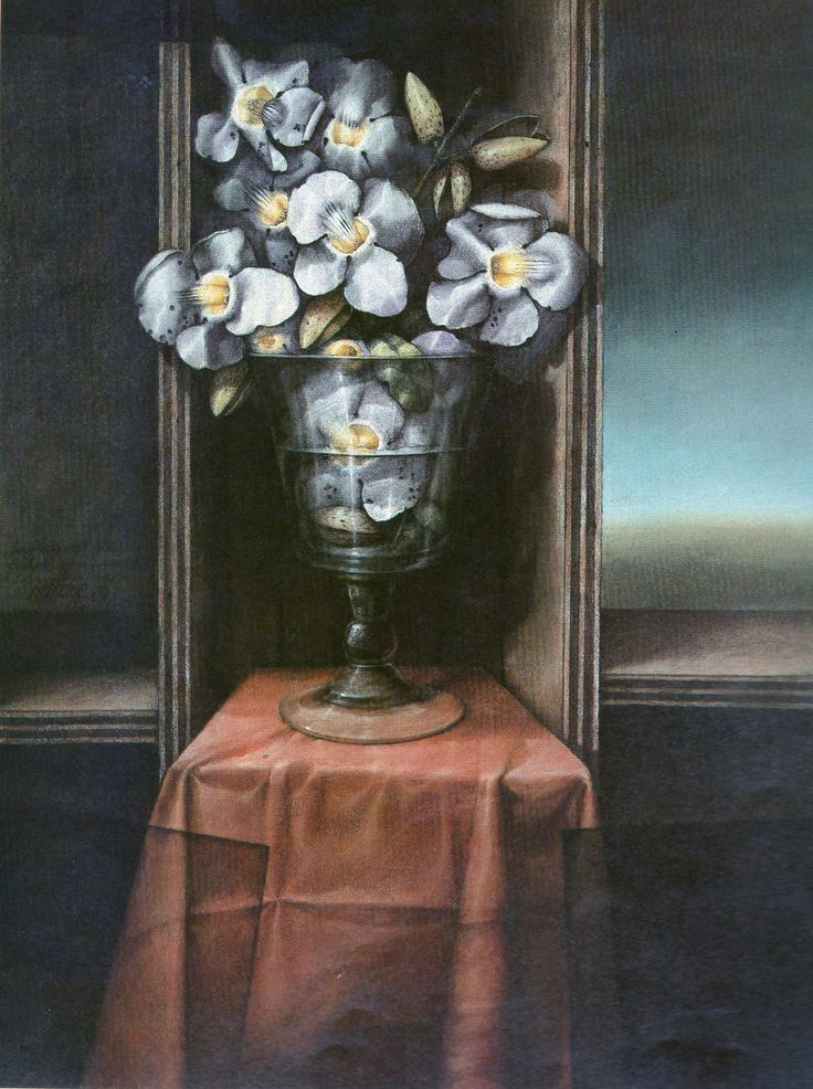 Florero de David Manzur, colombiano