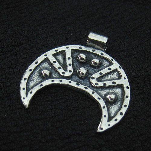 Silver lunula from Kievan Rus from The Sunken City by DaWanda.com