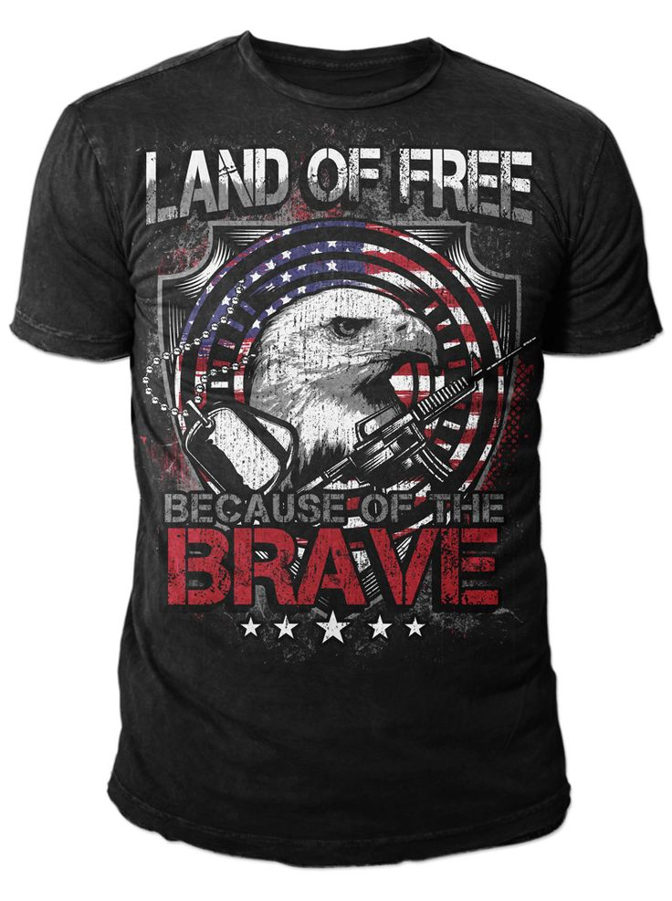 Land Of Free Tee shirt design
