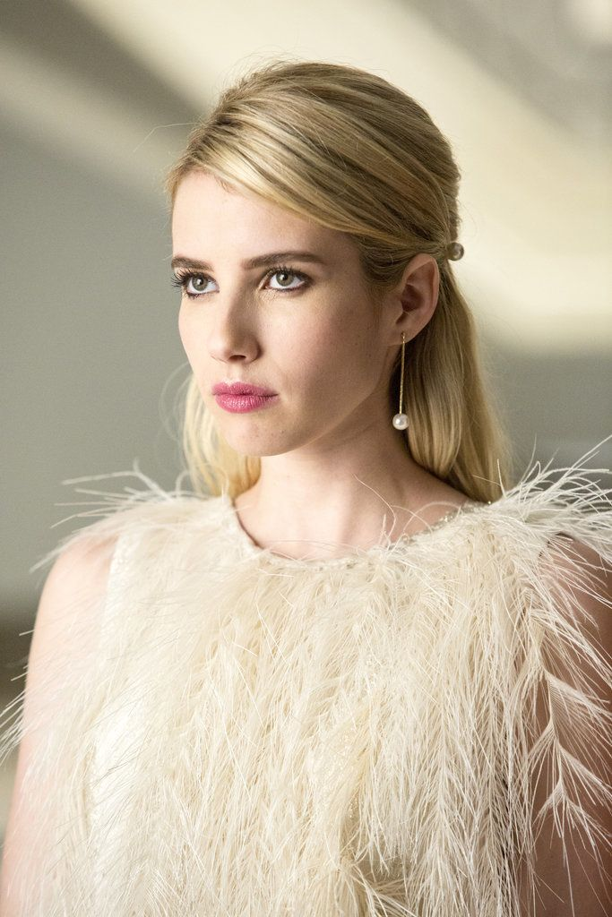 Outfit Inspires We're All Obsessing Over Emma Roberts's Insane Style on Scream Queens