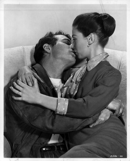 "Paul Newman & Pier Angeli in the movie, ""Somebody Up There Likes Me"""