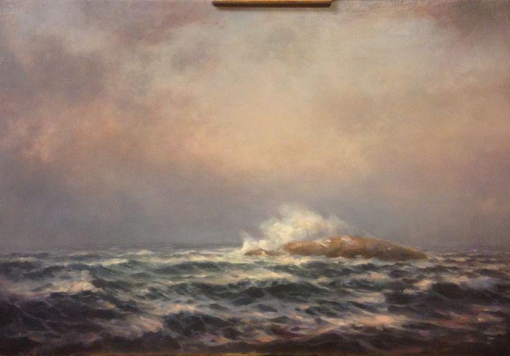 Storm ved Hjartholmen