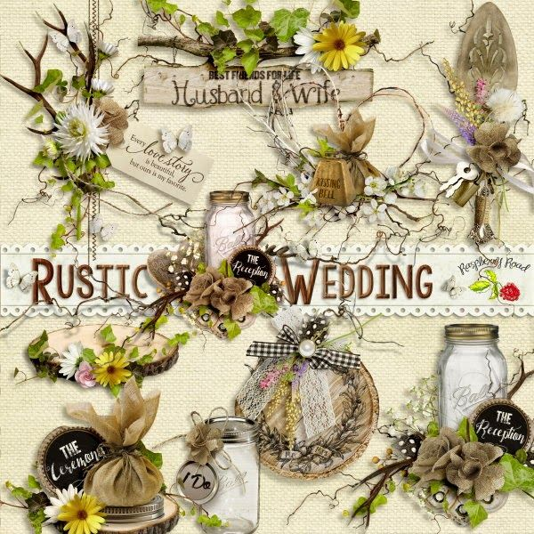 Wedding Scrapbook Kit: 11 Best Rustic Wedding Images On Pinterest