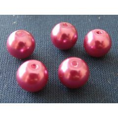 Pack of 8mm Amethyst Round Glass Beads (10 Beads per Pack) for R1.40