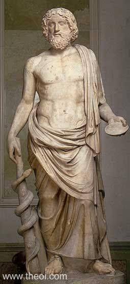 Aesculapius, Greek God of Medicine